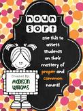 Common Proper Noun Sort Activity