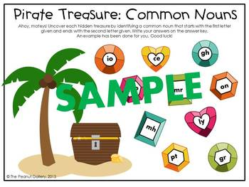 Common & Proper Nouns Fun Pack