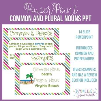 Common & Proper Nouns PowerPoint
