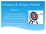 Common & Proper Nouns PowerPoint Presentation