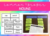 Common & Proper Nouns Sort