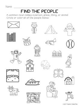 Common & Proper Nouns:  Bundle of 30 Activities