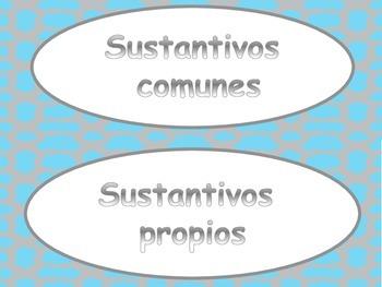 Common & Proper Nouns (sustantivos comunes y propios)