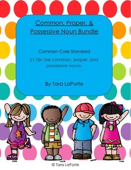 Common, Proper, & Possessive Nouns L1.1b