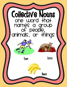 Common, Proper, and Collective Nouns Posters