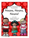 Common, Proper and Possessive Nouns  Games, Worksheets and