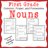 Common, Proper, and Possessive Nouns assessments.