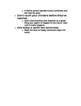 Common Proverbs