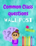 Common Question wall
