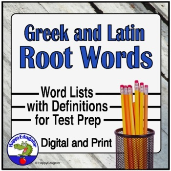 Root Words for Test Prep
