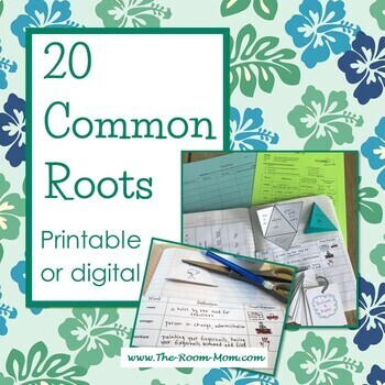Common Roots Vocabulary