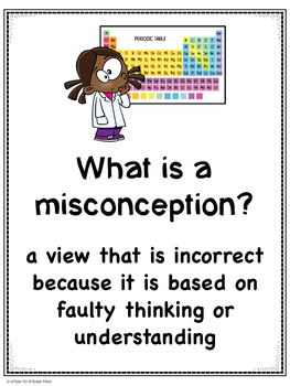 Back to School: Common Science Misconceptions for Middle School