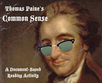 Common Sense : CCSS Close Reading Activity