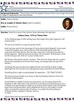 Thomas paine common sense. Common Sense (Pamphlet) by ...