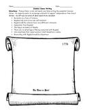 Common Sense Thomas Paine Writing Worksheet