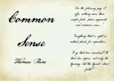 Common Sense by Thomas Paine Primary Source Close Read