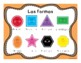 Common Shapes in Spanish (Formas Comunes) worksheets and task cards