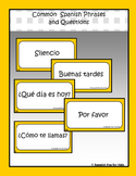 Common Spanish Phrases and Questions