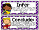#christmasinjuly Common Testing Vocabulary Terms Kid Questioning Posters