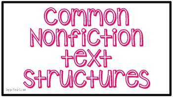 Common Text Structures