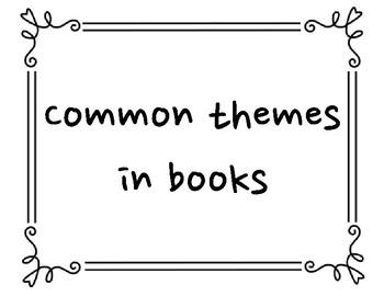 Common Theme Posters