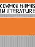Common Themes in Literature