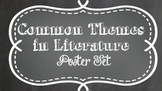 Common Themes in Literature Poster Set