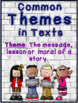 Common Themes in Texts (Theme Bank)