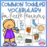 Common Toddler Vocabulary for Speech Therapy