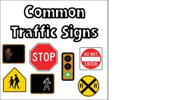 Common Traffic Signs Adapted Book