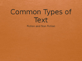 Common Types of Text