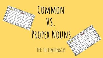 Common VS. Proper Nouns