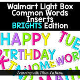 Common Words & Phrases Light Box Insert Growing Bundle