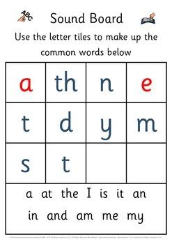 Common Words Workbook