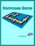 Action verbs / Activities in English Dominoes