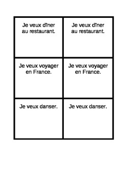 Common activities in French Invitations Speaking activity