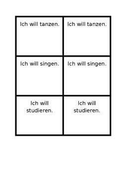 Aktivitäten (Activities in German) Invitations Speaking activity
