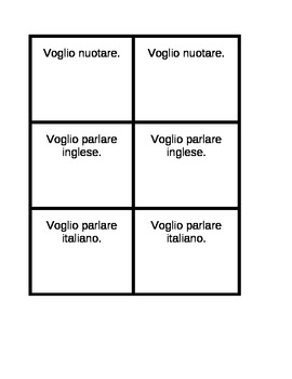 ARE verbs activities in Italian Invitations Speaking activity