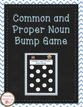 Common and Proper Noun Bump Game