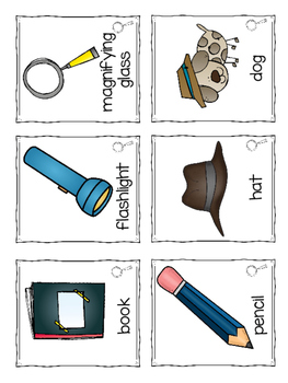 Common and Proper Noun Detective Activities