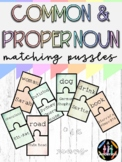Common and Proper Noun Matching Puzzles