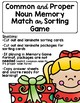 Common and Proper Noun Activity Pack-Christmas Themed