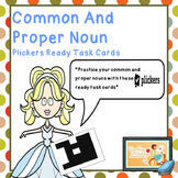 Common and Proper Noun Plickers Ready Task Cards