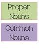 Common and Proper Noun Practice Game