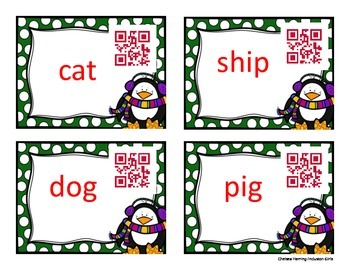 Common and Proper Noun QR code and Scoot!