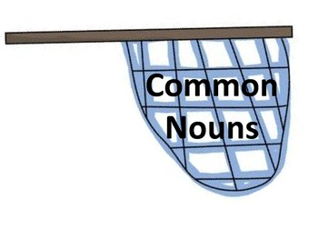 Common and Proper Noun Sort Center