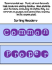 Common and Proper Noun Task Cards for ELA Centers