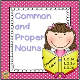 Common and Proper Noun Unit - 2nd and 3rd Grade!  L.2.1a, L.2.2a, L.3.1a