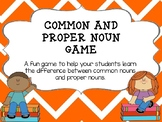 Common and Proper Noun Game