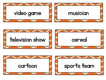 Common and Proper Noun Game